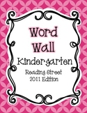 Reading Street Word Wall: Kindergarten {NEON COLORS}