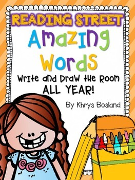 Reading Street {Write and Draw the Room} {Amazing Words} {