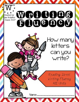 Reading Street Writing Fluency Book - All Units