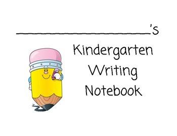 Reading Street Writing Notebook/Workbook: Kindergarten