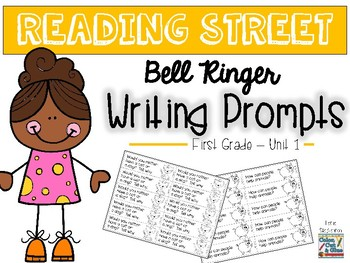 Reading Street Writing Prompts