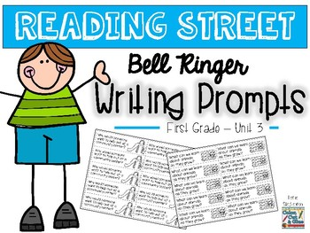 Reading Street Writing Prompts - Unit 3