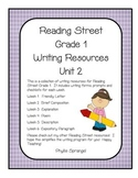 Reading Street Writing Resources Unit 2