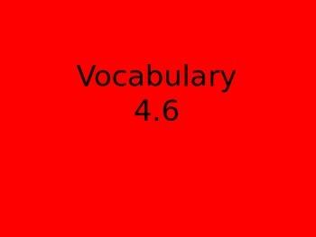 Reading Street first grade vocabulary flipchart 4.6 Henry and Mudge