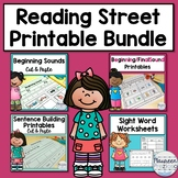 Reading Street Kindergarten Printable Bundle