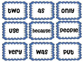Reading Street word wall cards grade 2