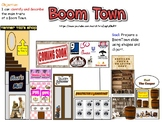 Reading Streets: BOOM TOWN- PBL project