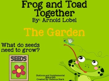 Reading Street's Frog and Toad Together 2008 Stations and