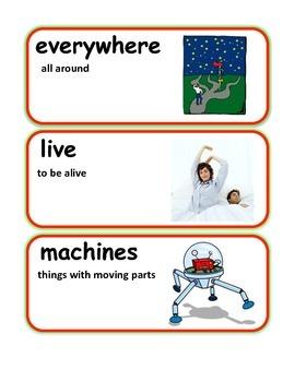 Reading Streets Grade 2 Unit 1 Vocabulary