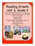 Reading Streets Grade 3 Unit 2 Vocabulary Cards