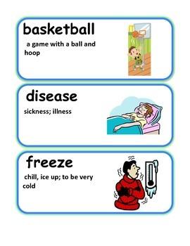 Reading Streets Grade 3 Unit 4 Vocabulary Cards