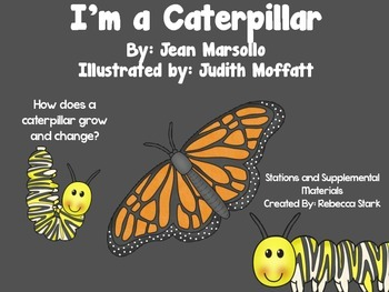 Reading Street's I'm a Caterpillar Supplemental Materials and Stations