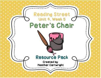 Reading Street's Peter's Chair