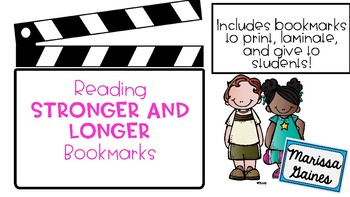 Reading Stronger and Longer Bookmark