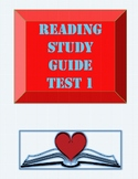 Reading Study Guide Test 1