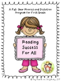 Reading Success For All- A Comprehensive Phonics and Spelling Program 1st Grade