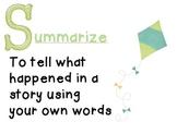 Reading - Summarize Poster