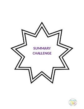 Reading Summary Challenge