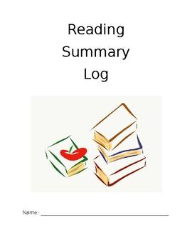 Reading Summary Log