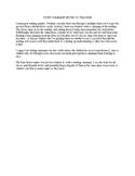 Reading Summary Worksheet