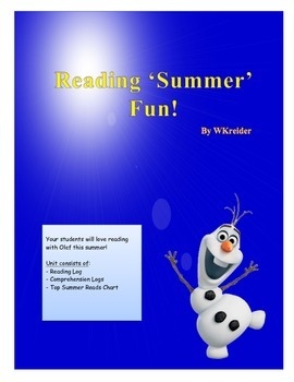 Reading 'Summer' Fun with Frozen's Olaf!