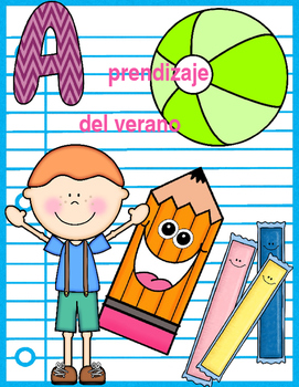 (Bilingual) Reading Summer Packet English Activities/ Paquete del verano Español