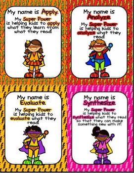 Reading Super Heroes Depth of Knowledge Comprehension Strategies for Any Text