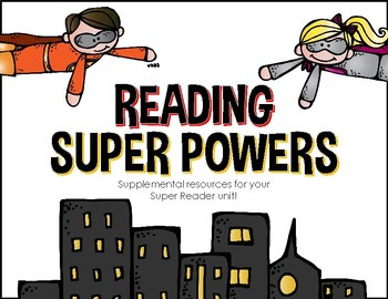 Reading Super Powers - I am a SUPER READER!