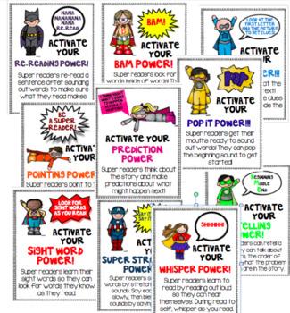 Reading Super Powers-Reading Strategies