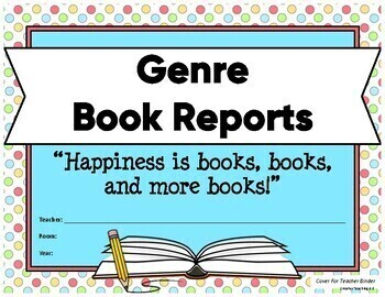 Genre Study Book Reports: Year-Long State Test Prep 3-6