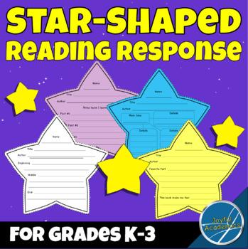 Reading Super Stars Star-Shaped Reading Response Sheets