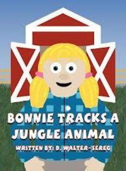 Reading Super Star Word Walk with the Book:  Bonnie Tracks a Jungle Animal
