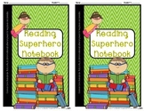 Reading Superhero Notebook {Reading Comprehension- CCS: RI.3.1 & RL.3.1}