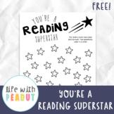 Reading Superstar, Track Books Student has Read, Reward Books