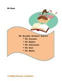 Reading Survey for Intermediate through High School Students