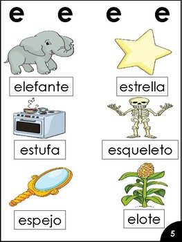 Reading Syllables in Spanish
