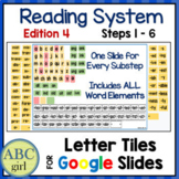 Reading System Ed. 4 Steps 1-6 Distance Learning Letter Ti