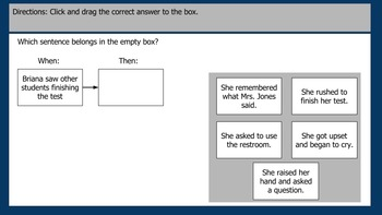 Reading TEI Practice Passage and Questions 3rd Grade Google Slides