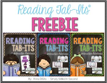 Reading Tab-Its® FREEBIE for Grades 1, 2, & 3