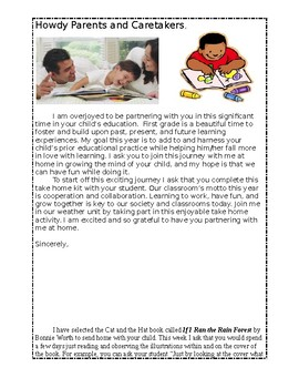 Reading Take Home Activity