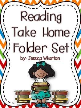 Reading Take Home Folder Set