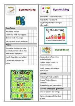 Student Reading Targets