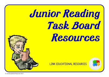 Reading Task Board Resources