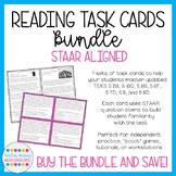 Reading Task Cards Bundle (STAAR Aligned; 6 Sets Included)