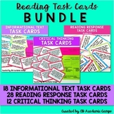 Reading Task Cards Bundle for Middle & High School
