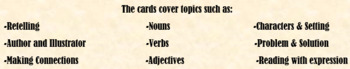 Reading Task Cards (Covers Reading, Comprehension, and ELA topics!)