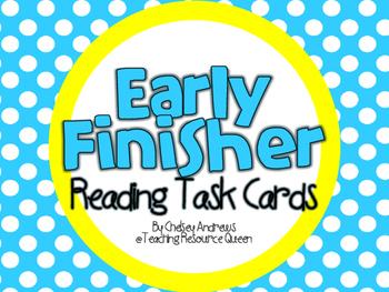 Reading Task Cards Freebie