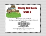 Reading Task Cards Grade 2-Time to Play Word Detective