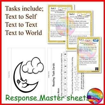 Myth Legend from ENGLAND Text & Task Cards Making Connections & Close Questions
