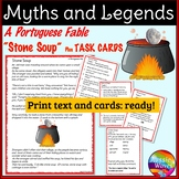 Myth Legend Portuguese Cultural Text Task Cards Make Connections Close Questions